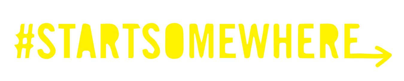 Startsomewhere logo revised yellow